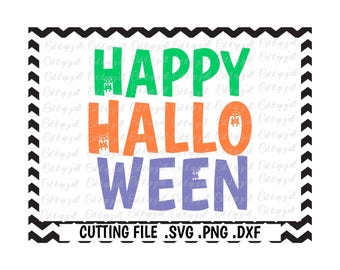 Happy Halloween Svg, Spider Svg,Spider Web Svg-Dxf-Pdf-Png, Cut Files for Cricut, Silhouette Cameo, Instant Download.
