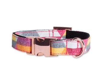 Dog Collar ACID OUTLET Martingale or metal buckle system