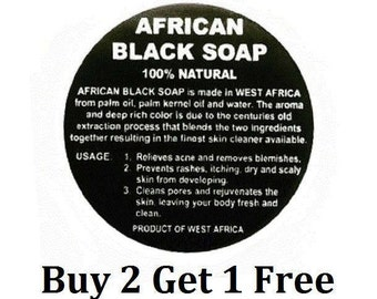 Handmade Black Soap