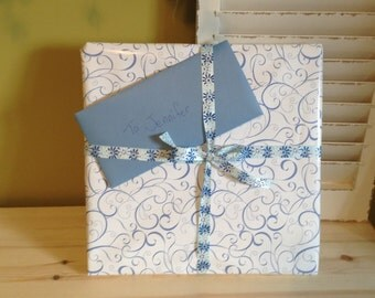 Gift Wrap and Optional Greeting Card