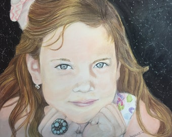 Custom Portrait in Soft Pastel