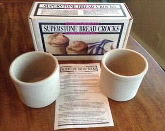 Superstone Bread Crocks