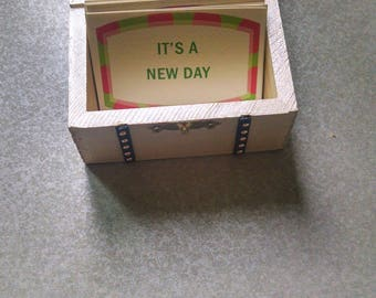 Trinket Box with Encouragement Cards