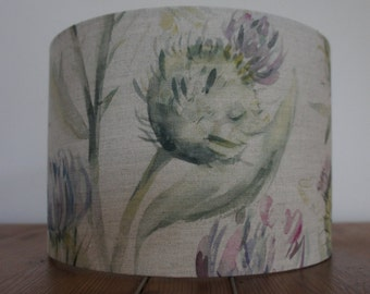 Thistle Glen Spring by Voyage Decoration 30cm drum lampshade