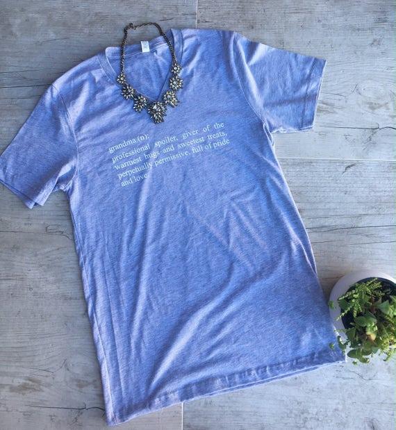 Grandma Shirt, Grandma Definition T-Shirt, Grandma Gift