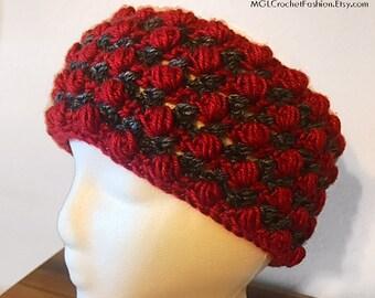 PATTERN XOXO Ear Warmers/Headband | Crochet Pattern | Beginner/Intermediate Tutorial | PDF Pattern | Valentine's Day