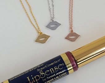 Lip Necklace | Charm | Lips | Lipstick | Kiss Charm | Rep | Team | Downline | Gift | Kiss Me |