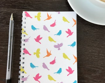 Birds of Paradise A6 notebook in Multi