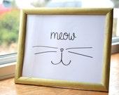 "Cat Art, ""Meow""..."