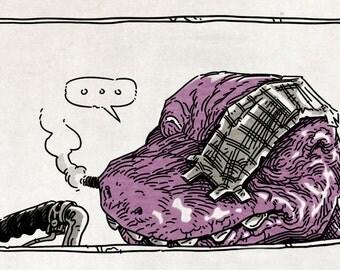 Barney 3029 Comic Zine