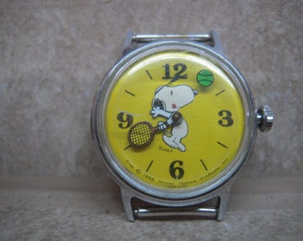 Snoopy Watch Etsy