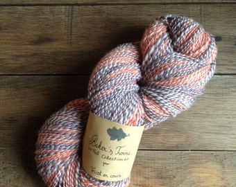 Baker's Twine - Skein of yarn spun and dyed by hand Falkland