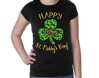 St. Patrick's Day Tee|Kids T-shirt|Happy St. Paddy's Day