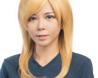 "Mizuki - 19"" Wig Long Straight Cut w/ Long Bangs"
