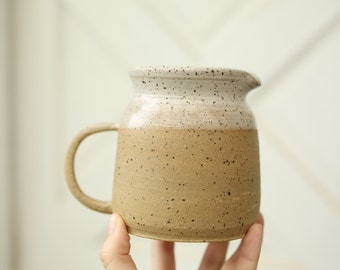 Small cream pitcher