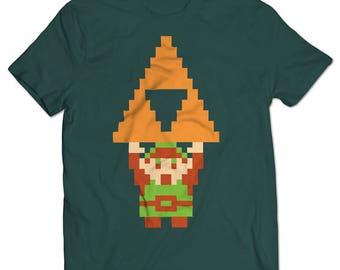 The Legend of Zelda Link Triforce T-shirt