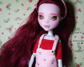OOAK custom Monster High doll repaint Lagoona Blue