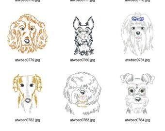 Zig-Zag-Dog-Breeds-4 ( 10 Machine Embroidery Designs from ATW )