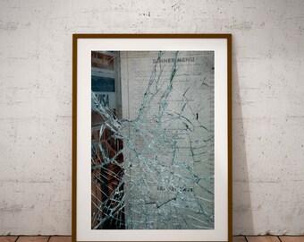 "San Francisco Street Art Photography, California, ""Geary Blvd"", Fine Art Photography, 20 cm x 30 cm, 8"" x 12"""