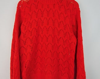Vintage Red Jumper