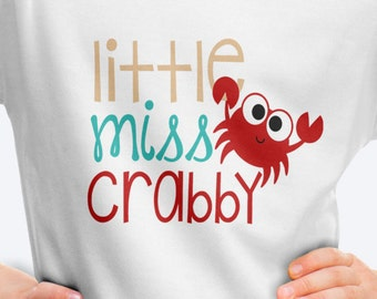 Little Miss Crabby T Shirt