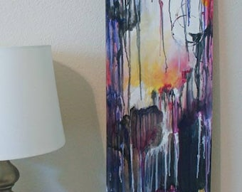 "ORIGINAL ACRYLIC 36x12"" Painting"