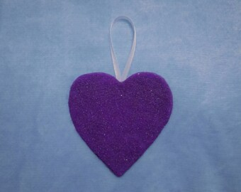 Purple Heart Sand Ornament, R1-5