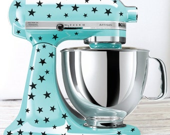 Star Kitchen Mixer Decals, Mixer Stickers