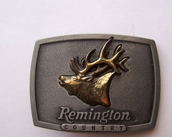 "Remington Country ""Bugling Elk""  Belt Buckle"