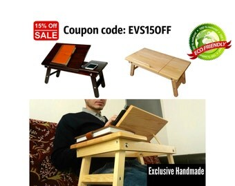 Gift for Him, Mobile Laptop Table, Laptop Stand, Lap Desk, Laptop Desk, Laptop Trays, Lap Trays, Desk Organizer, Computer Desk, Computer Tab
