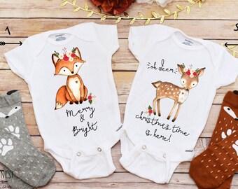 Christmas Onesie®, Christmas Shirt, Baby Girl Clothes