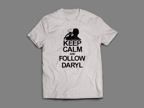"""The Walking Dead """"Keep Calm and Follow Daryl""""  Shirt S-4XL and Long Sleeve Available TWD"""