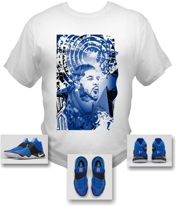 KYRIE 2 II EFFECT White T-Shirt Made to Match Shoes