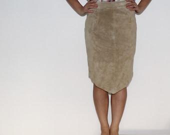 Brown pencil skirt | Etsy