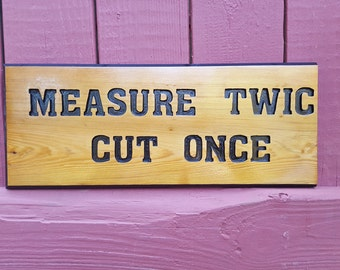 Woodworker Gift, woodworking, Man cave, She shed, Clever Shop Sign, Unique, Cedar, Gag gift, woodworking