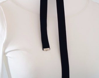 Choker necklace collar Choker long black