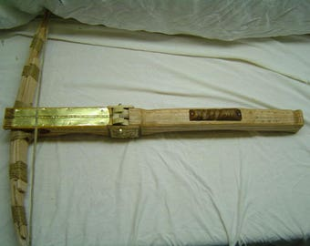 Handmade Wooden Crossbow