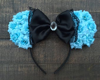 Alice in Wonderland inspired mouse ears