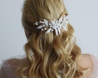 Bridal Headpiece, Wedding Headpiece, Bridal Hair Piece, Bridal Head Piece,Wedding hair comb,Hair jewelry, Bridal hair comb