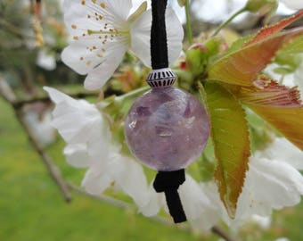 crystal ball, Amethyst necklace