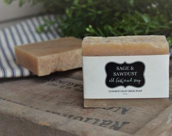 COWBOY GOAT MILK -Old Fashioned Soap - 4.5 oz.