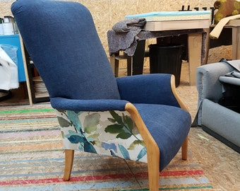 Parker Knoll armchair - full restoration and reupholstered