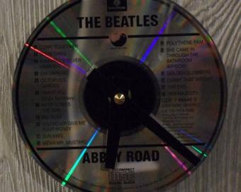 Beatles CD Clock
