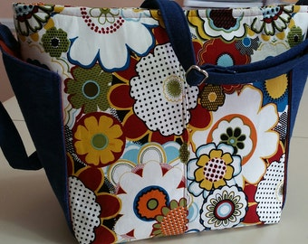 Colorful Purse/Tote Bag (made in America)