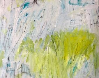 Original Abstract Art on Paper, modern art, expressionism, home decor