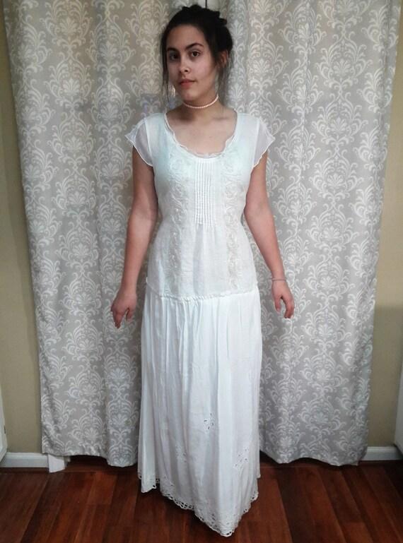 Boho Hippie Wedding dress Beach wedding gown Simple wedding