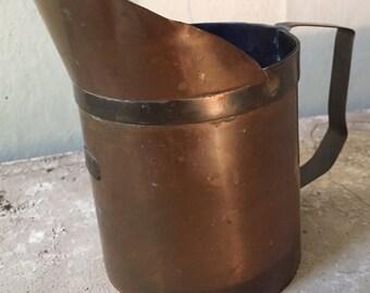 1 liter brass measuring cup