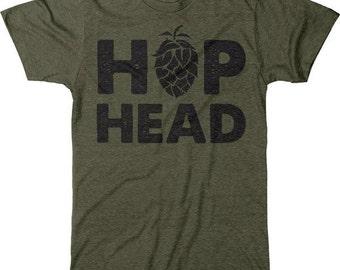 Hop Head Homebrew Craft Brew Men's Tri-blend T-Shirt