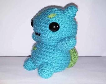 Squirtle Amigurumi Octopus : Bulbasaur plush Etsy