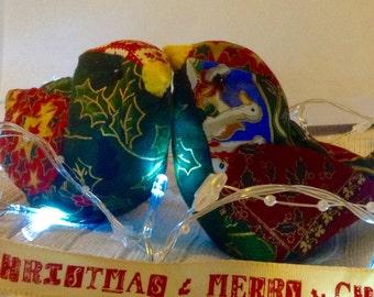 Handmade Christmas Lovebird